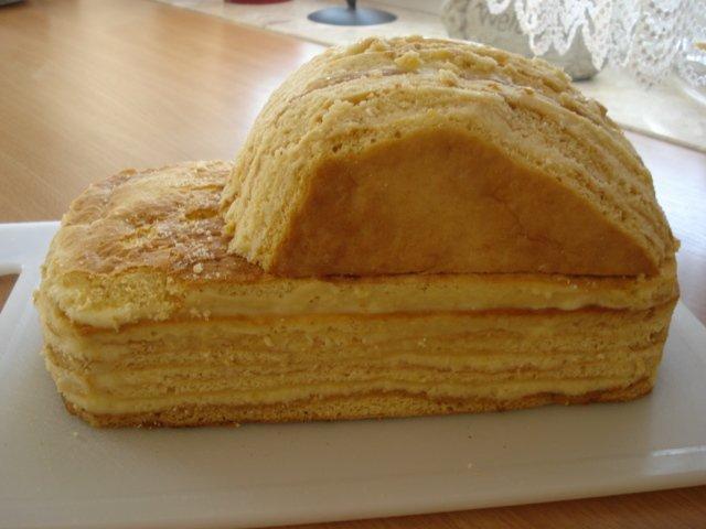 машинка из коржей для торта