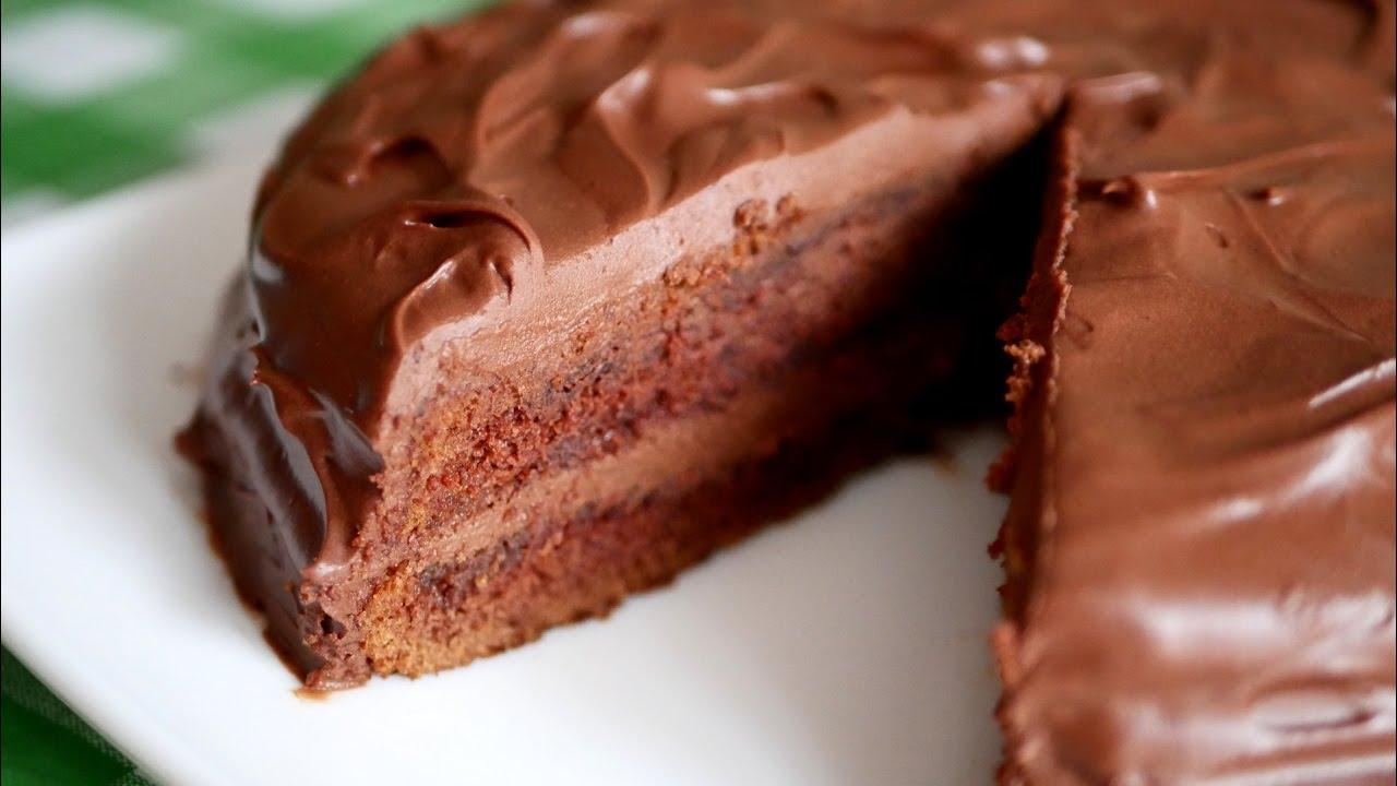 мокрый шоколадный торт рецепт с фото это стоит обратить