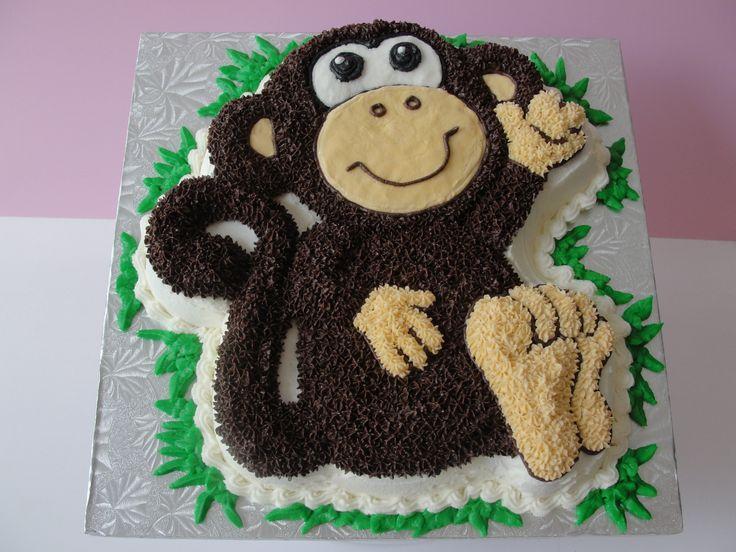 торт обезьянка