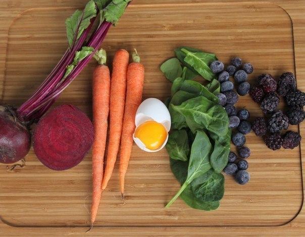 овощи ля натуральных красителей