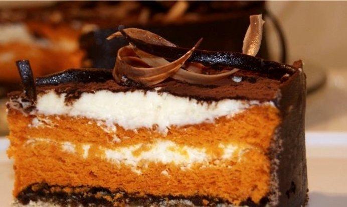 торт шоколадный шифон