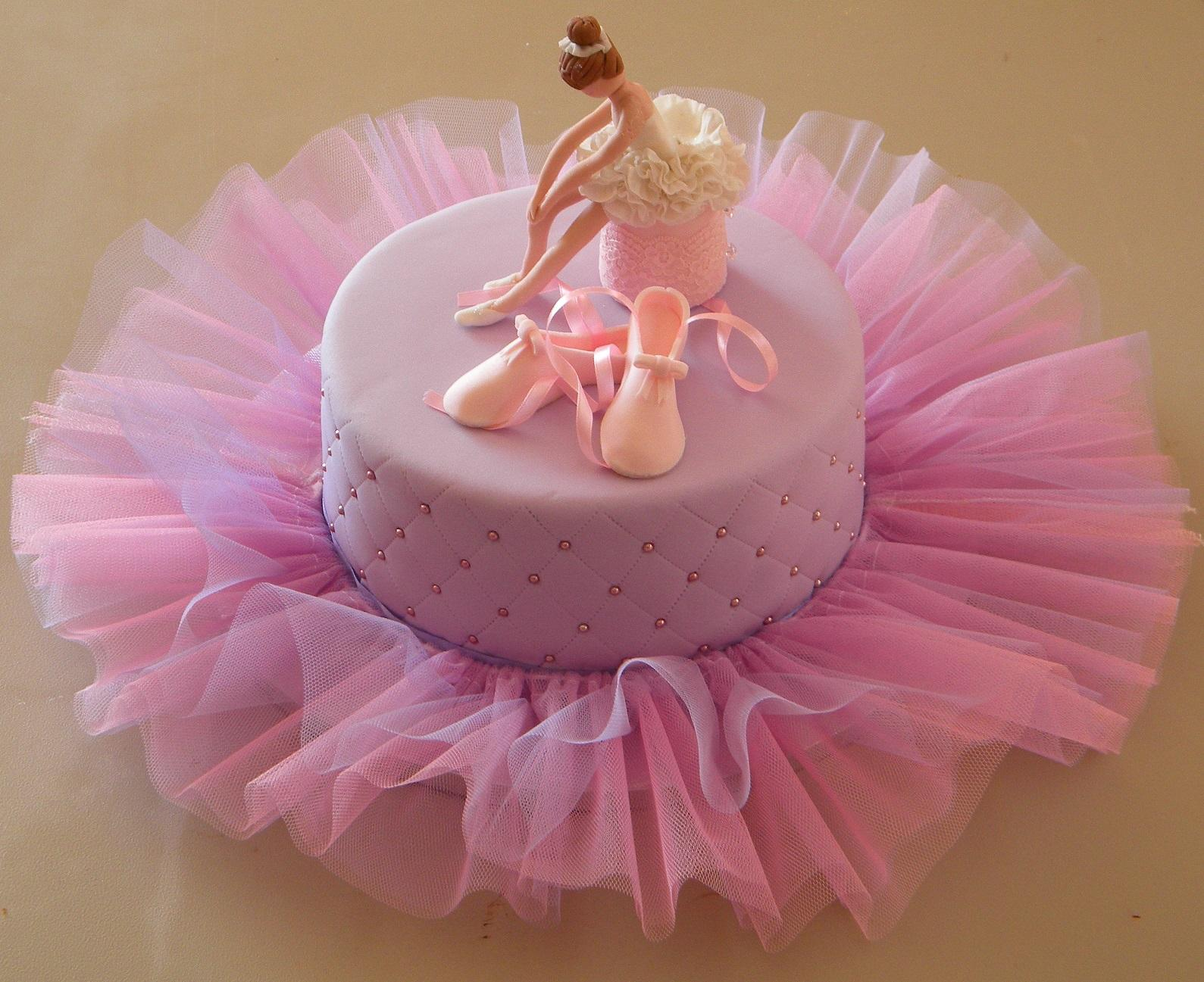домашний торт балерина