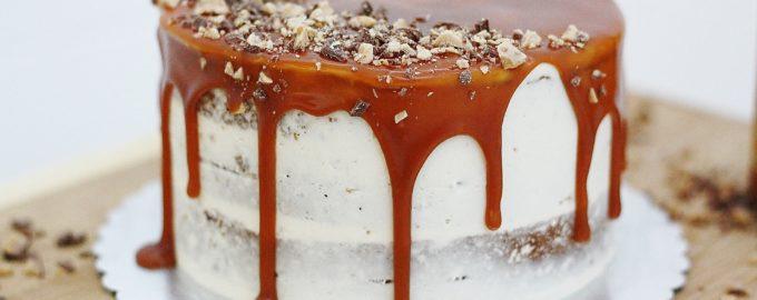 Торт на пиве со сливочно-сырным кремом