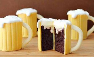 торт кружка пива