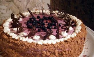 торт «Сиреневый туман»