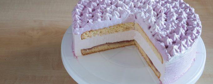 торт с йогуртовым суфле