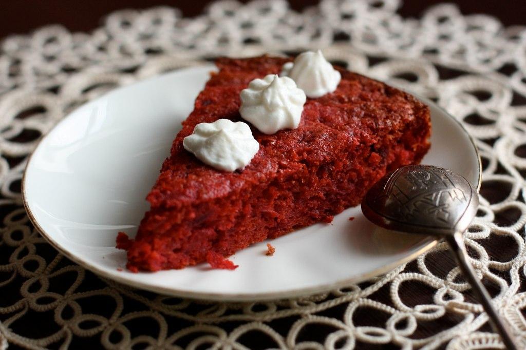 Свекольный торт