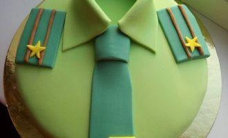 торт для военного