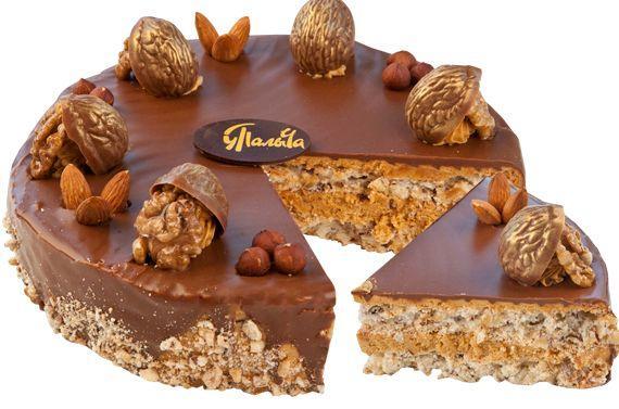 Торт от «Палыча» «Ореховый по-королевски»