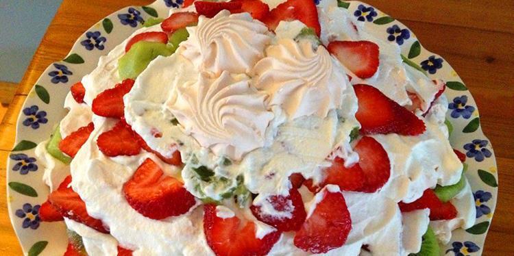 зефирный торт от лаймы вайкуле