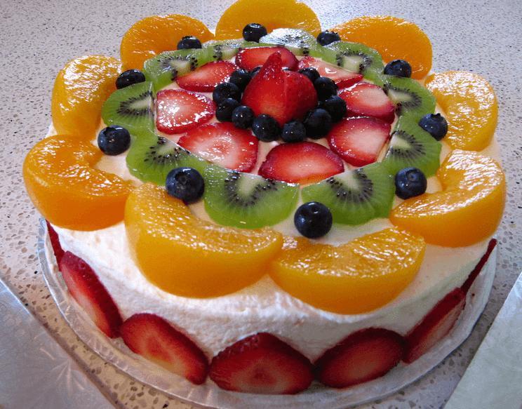 полчаса этот торт со свежими фруктами рецепт с фото ещё