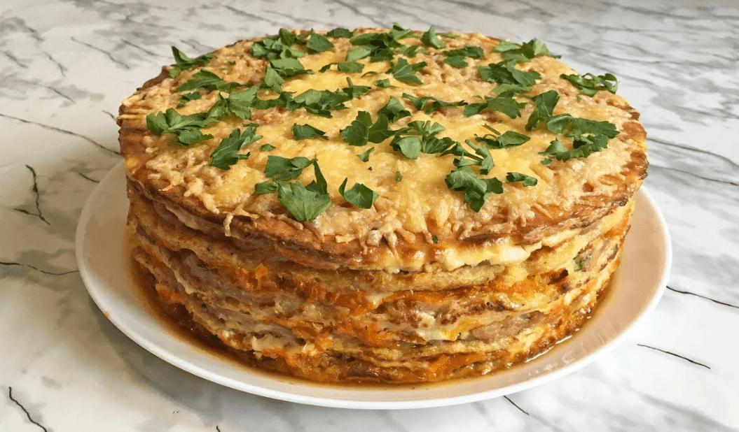 капустный торт
