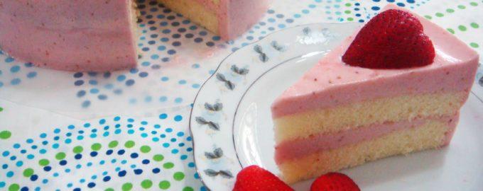 клубничный мусс для торта
