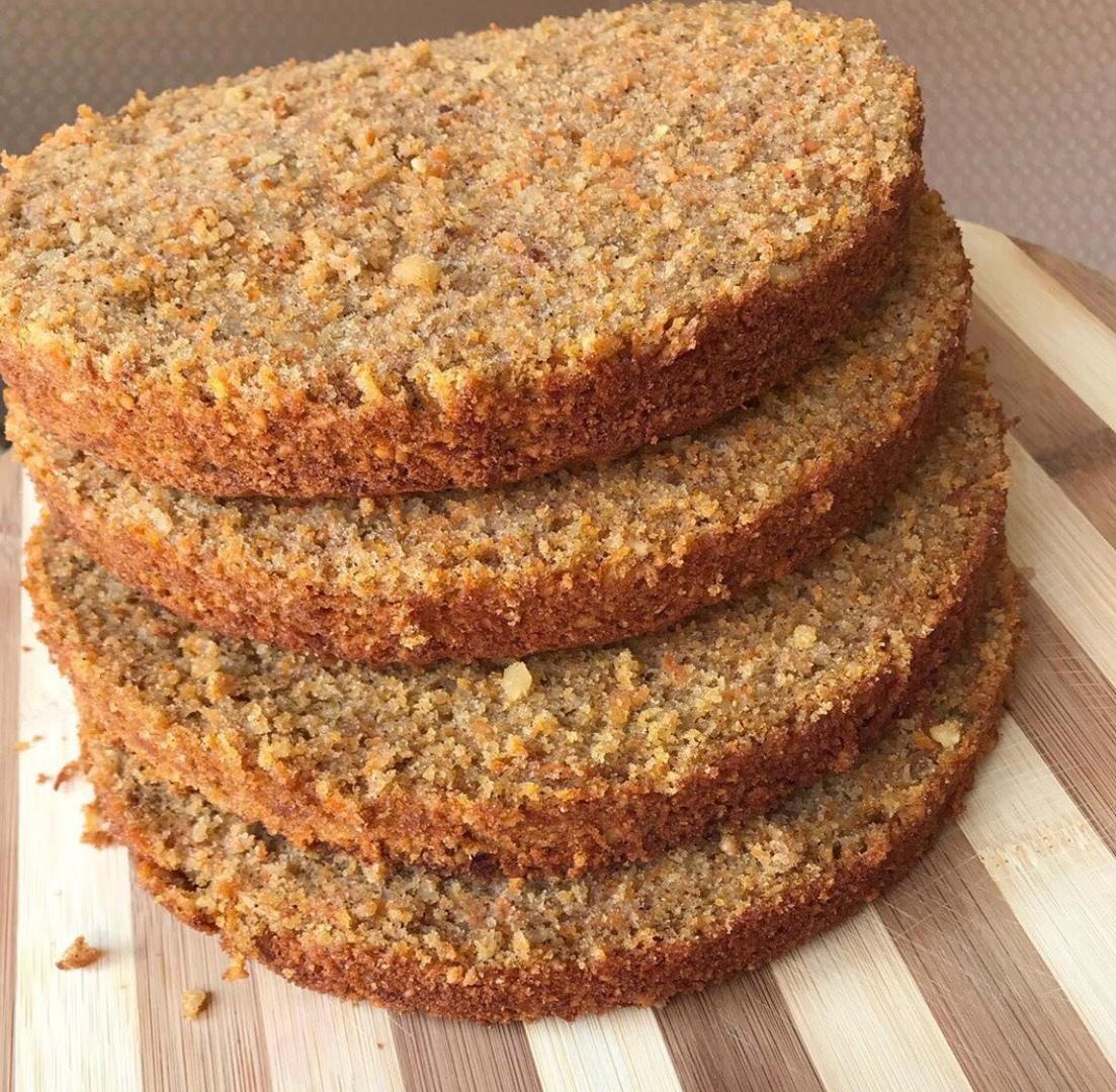 коржи для морковного торта с маскарпоне