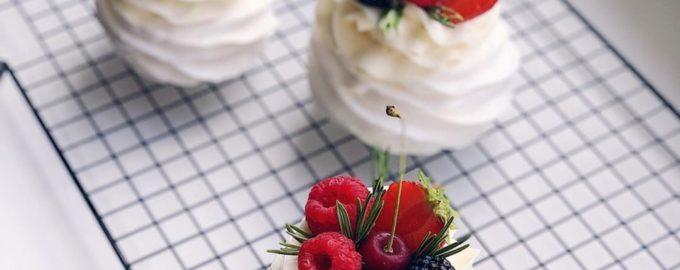 пирожное - торт павлова