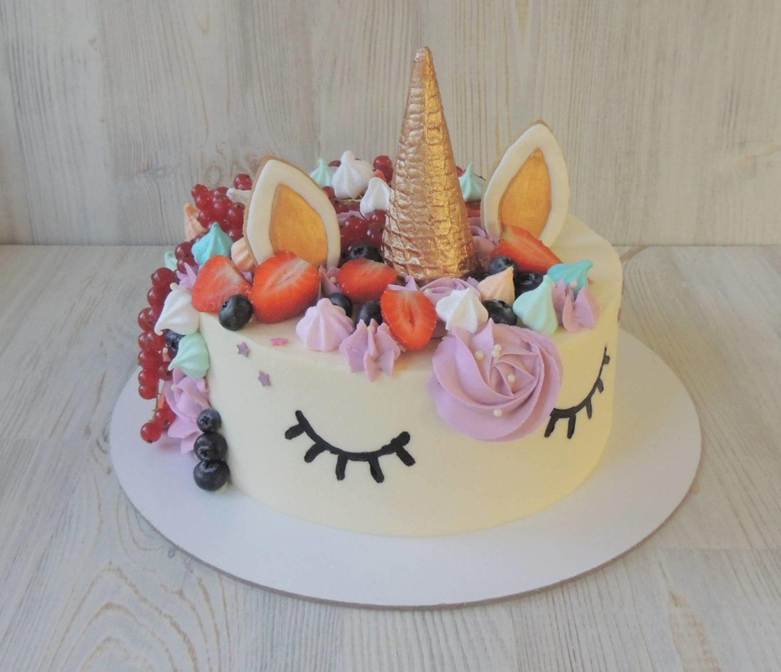 торт девочке на день рождение 8 лет