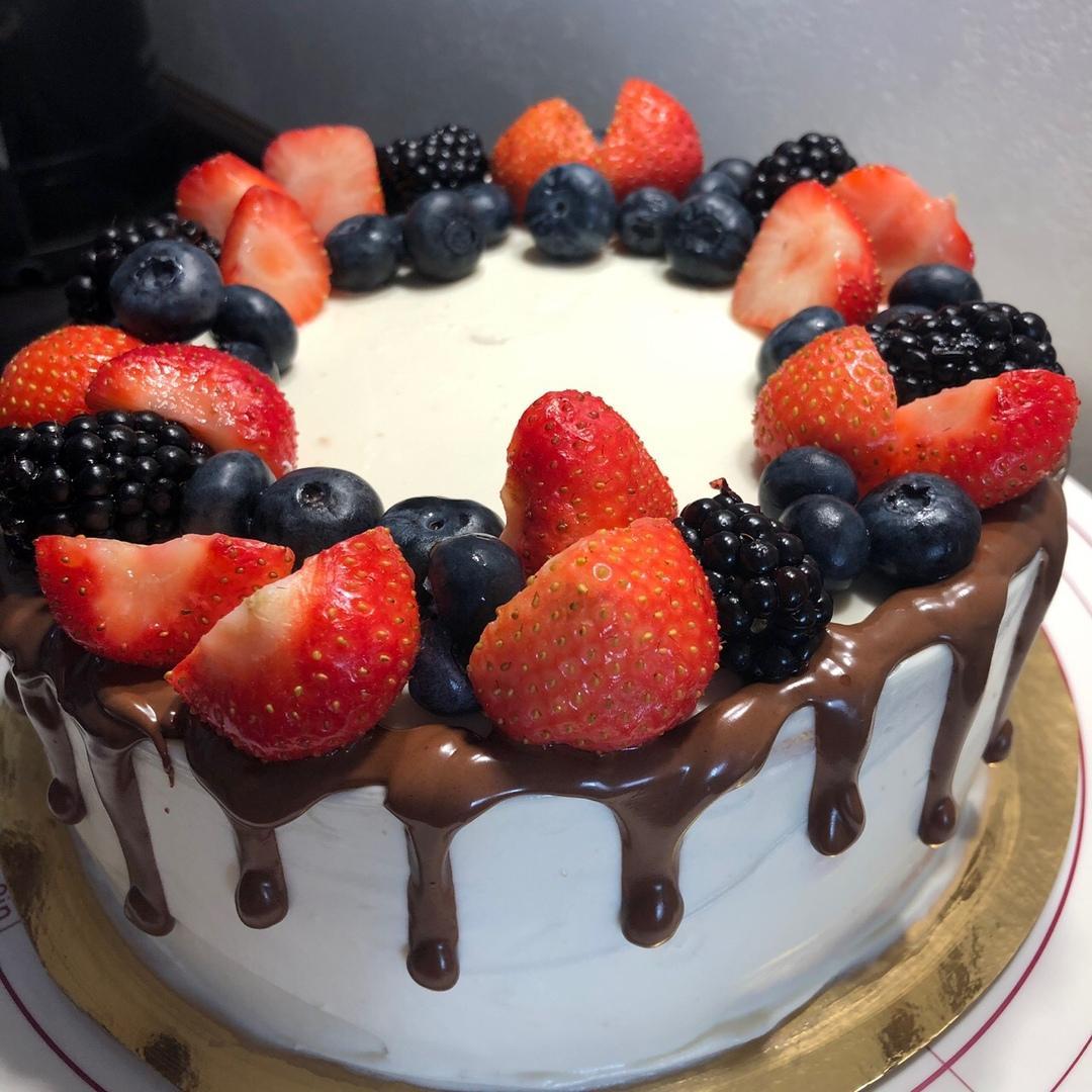 торт девочке на день рождения 11 лет