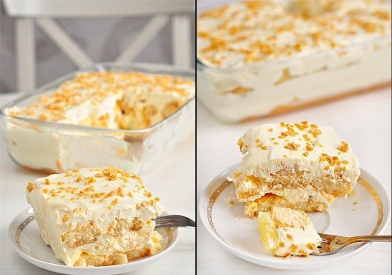 торт из ананасов