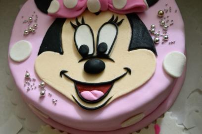 торт из мастики на один год девочке