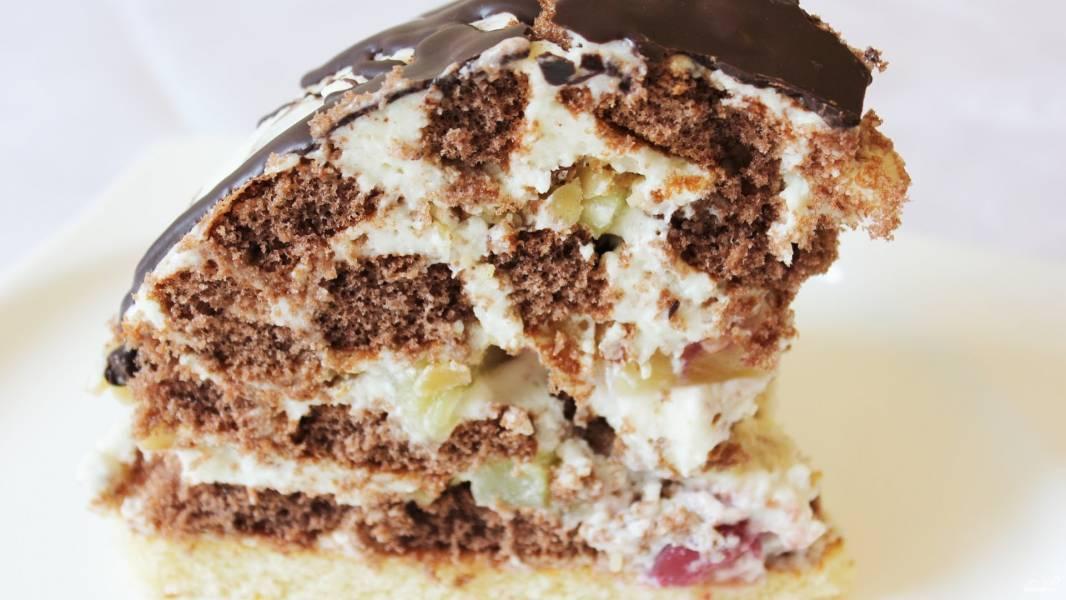 торт кучерявый панчо.