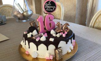 Торт для подростка на день рождения