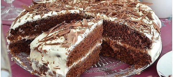 Торт из простокваши коржи