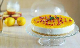 торт с творожным суфле рецепт