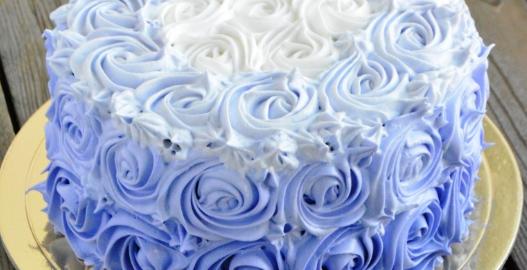 Белковый торт