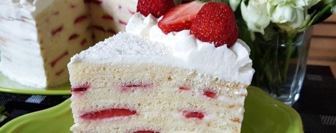 Молочная девочка торт