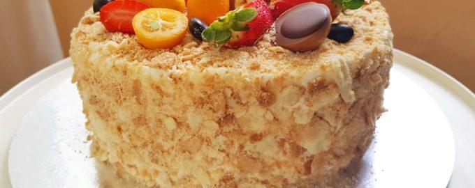 торт Наполеон рецепт советсткого времени
