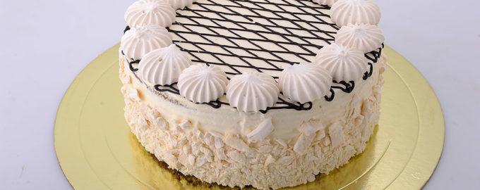 торт из безе бисквитный